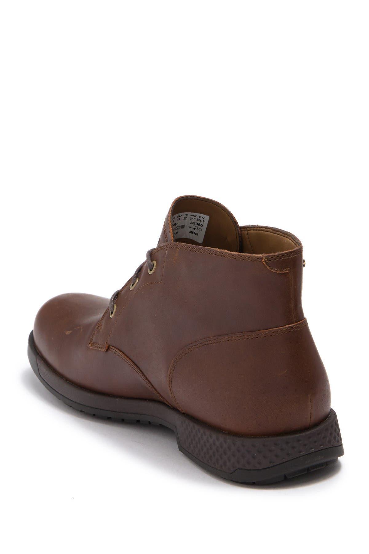 City's Edge Waterproof Leather Chukka