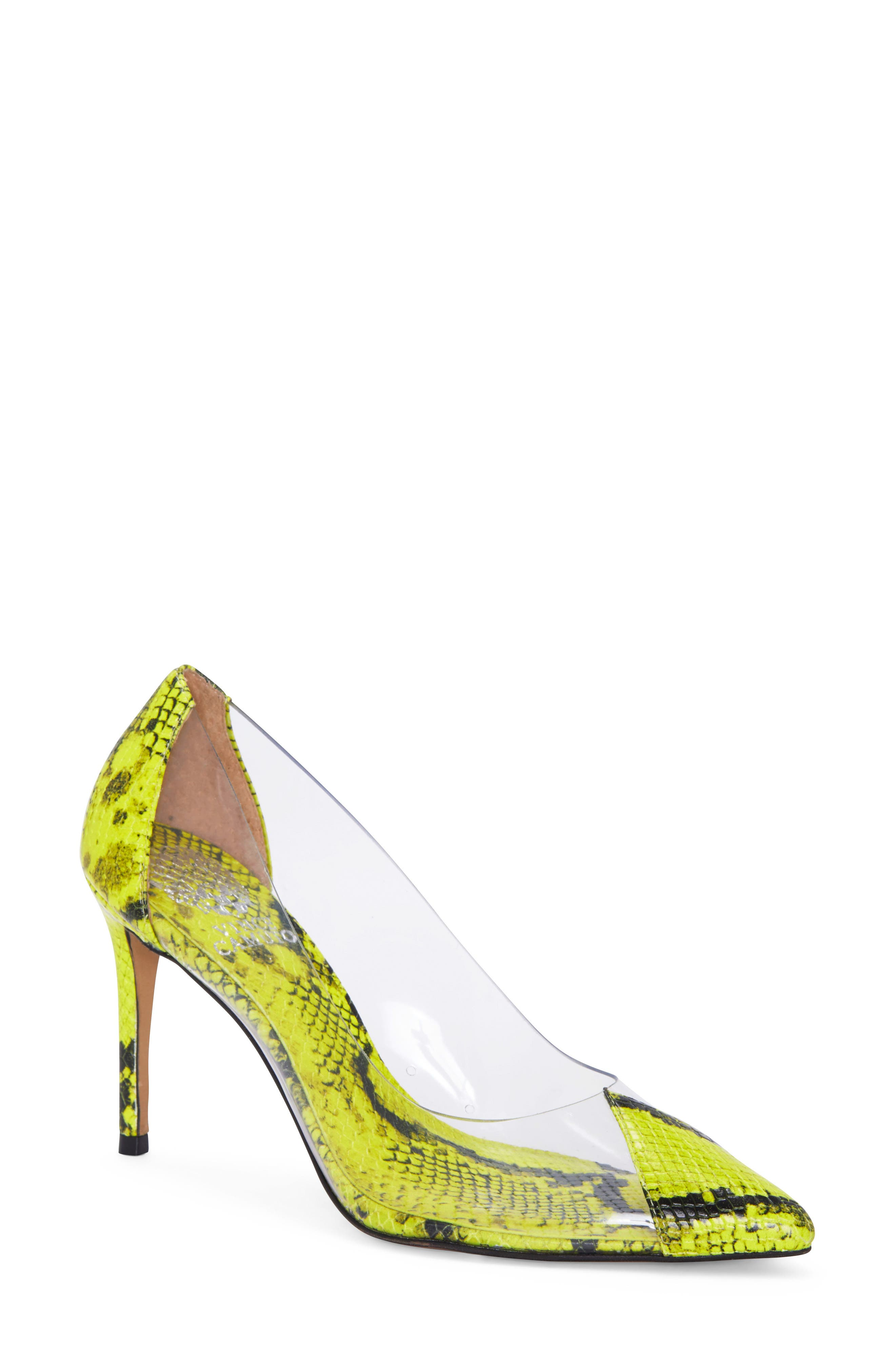 Vince Camuto | Poised Clear Pump
