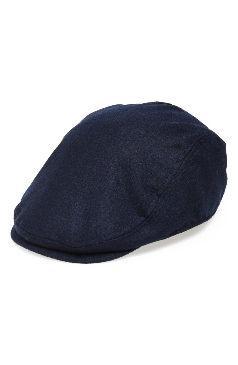 GOORIN BROS. Glory Hats by Goorin 'Mikey' Driving Cap, Main, color, NAVY