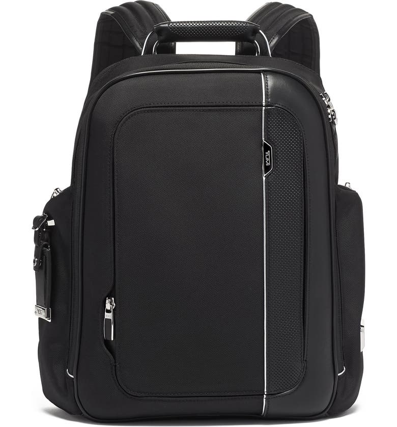 TUMI Arrivé Larson Backpack, Main, color, BLACK