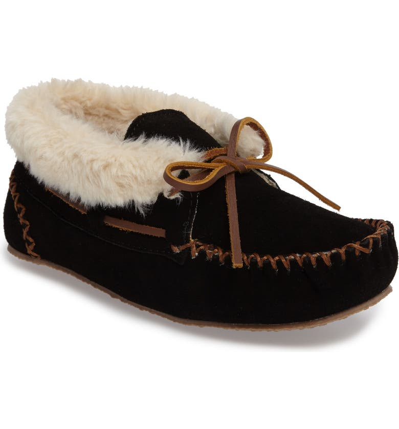Minnetonka Chrissy Slipper Bootie Women