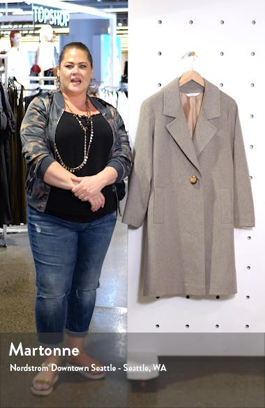 One-Button Wool Coat, sales video thumbnail