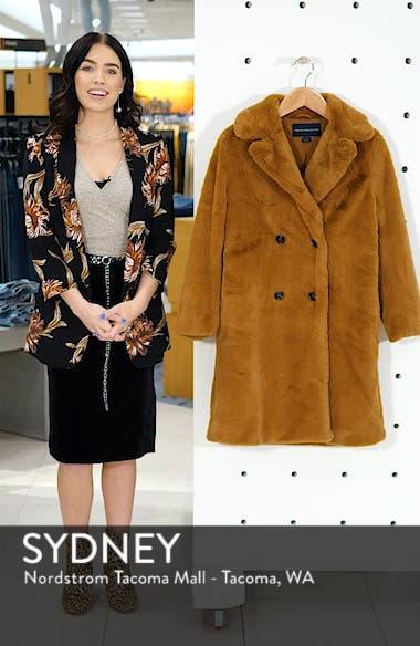 Annie Faux Fur Jacket, sales video thumbnail