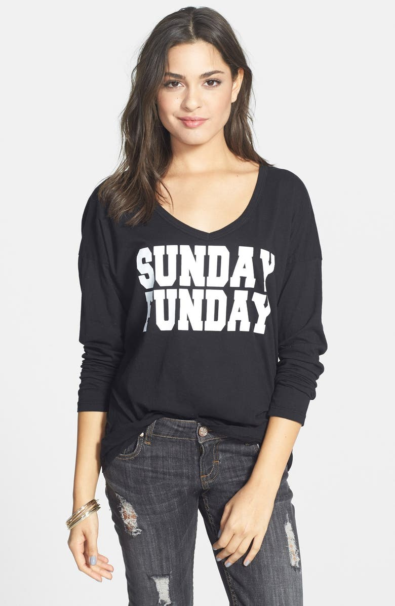 PST BY PROJECT SOCIAL T 'Sunday Funday' Graphic Tee, Main, color, 001