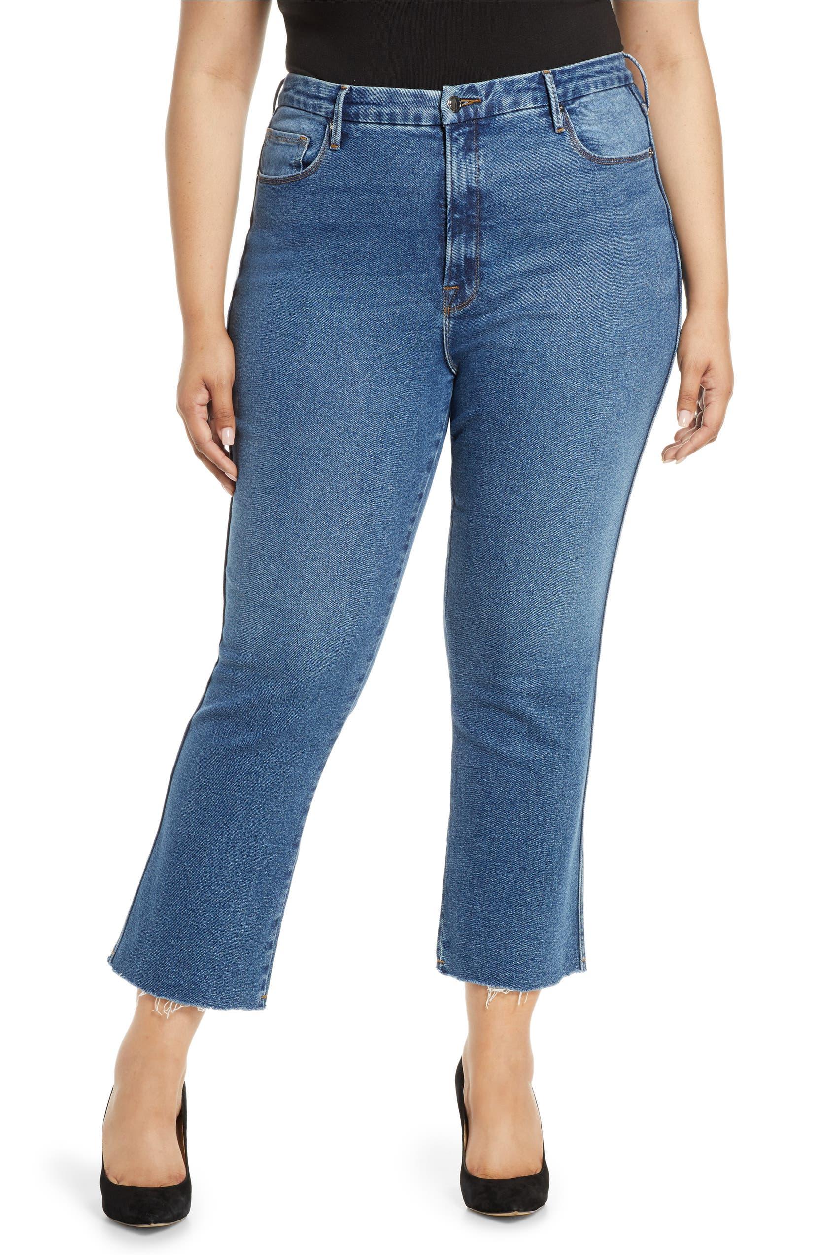 90ff6a89f9 Good Curve High Waist Ankle Straight Leg Jeans