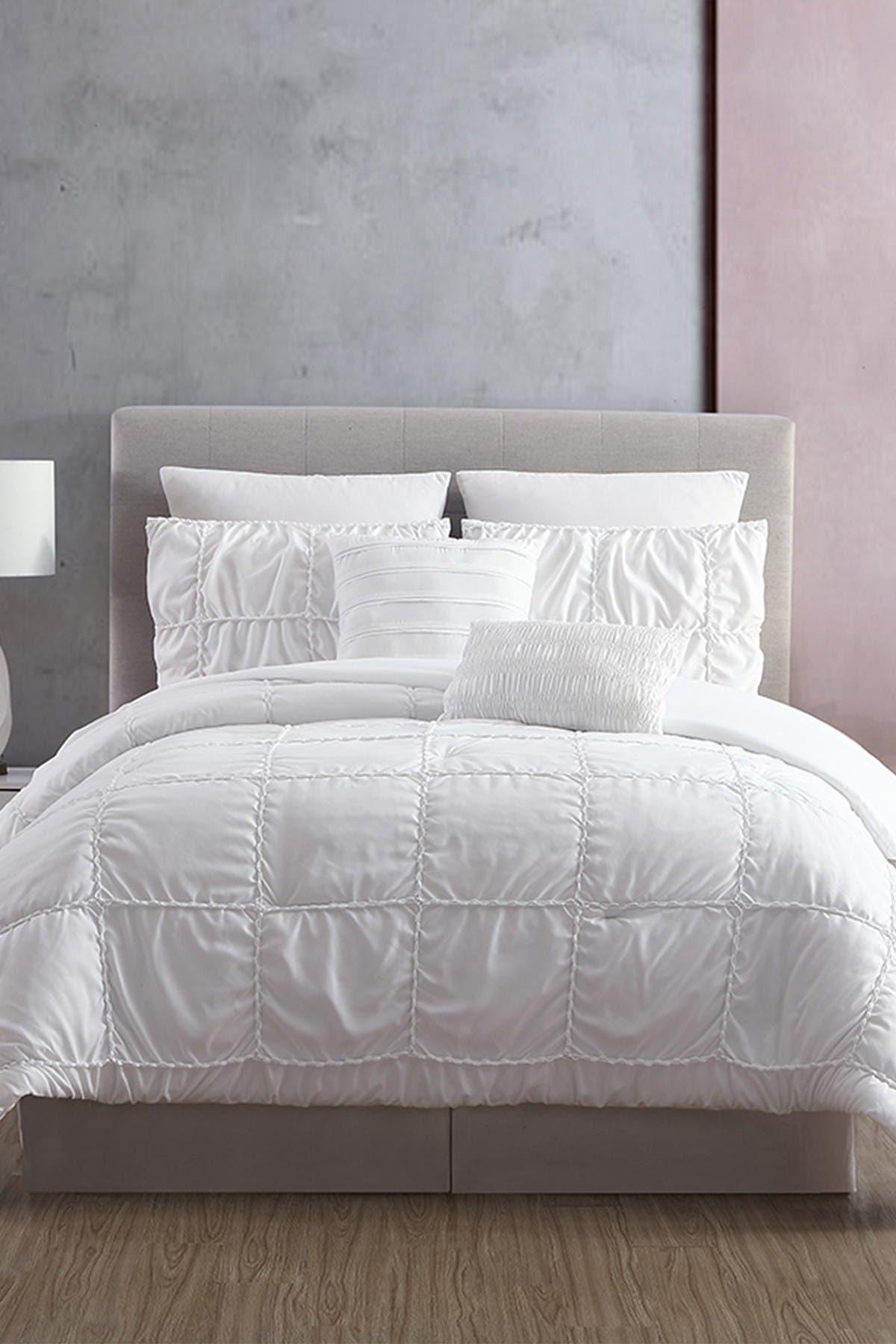 Image of Modern Threads 7-Piece Embellished Comforter Set - King