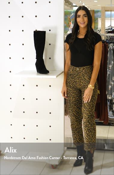 Star of the Show Wedge Knee High Boot, sales video thumbnail