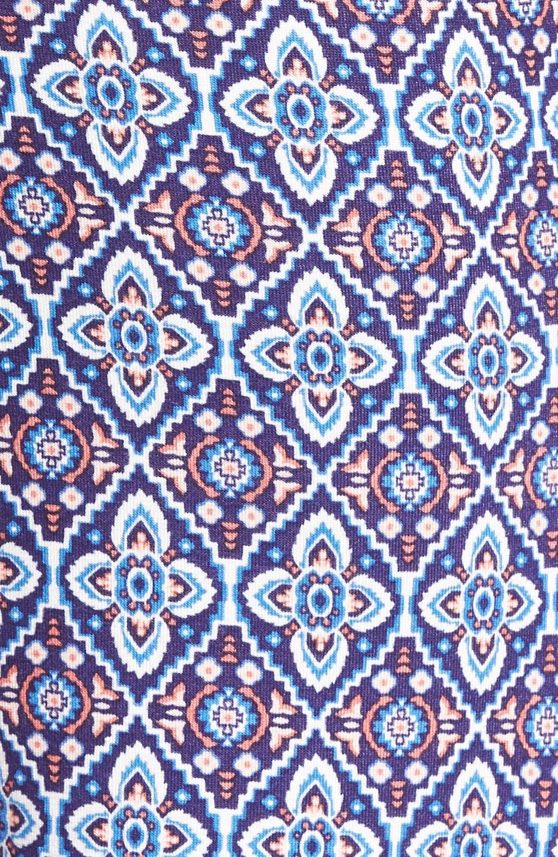 ,                             Mixed Print Flare Leg Pants,                             Alternate thumbnail 29, color,                             011