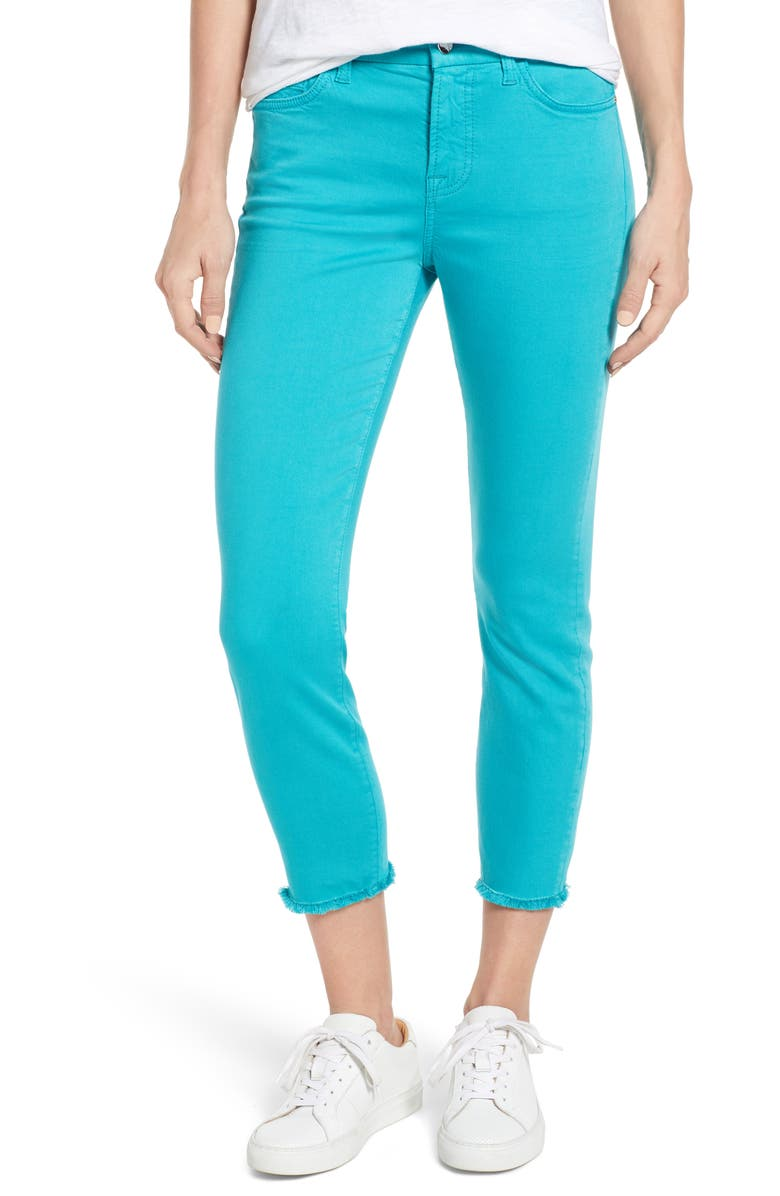 JEN7 BY 7 FOR ALL MANKIND Fray Hem Crop Skinny, Main, color, 442