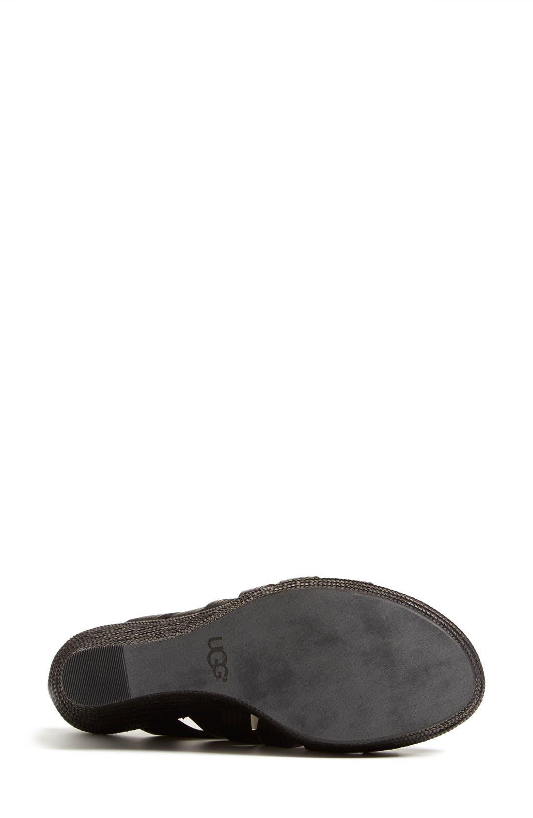 ,                             'Melinda' Platform Wedge Sandal,                             Alternate thumbnail 2, color,                             001