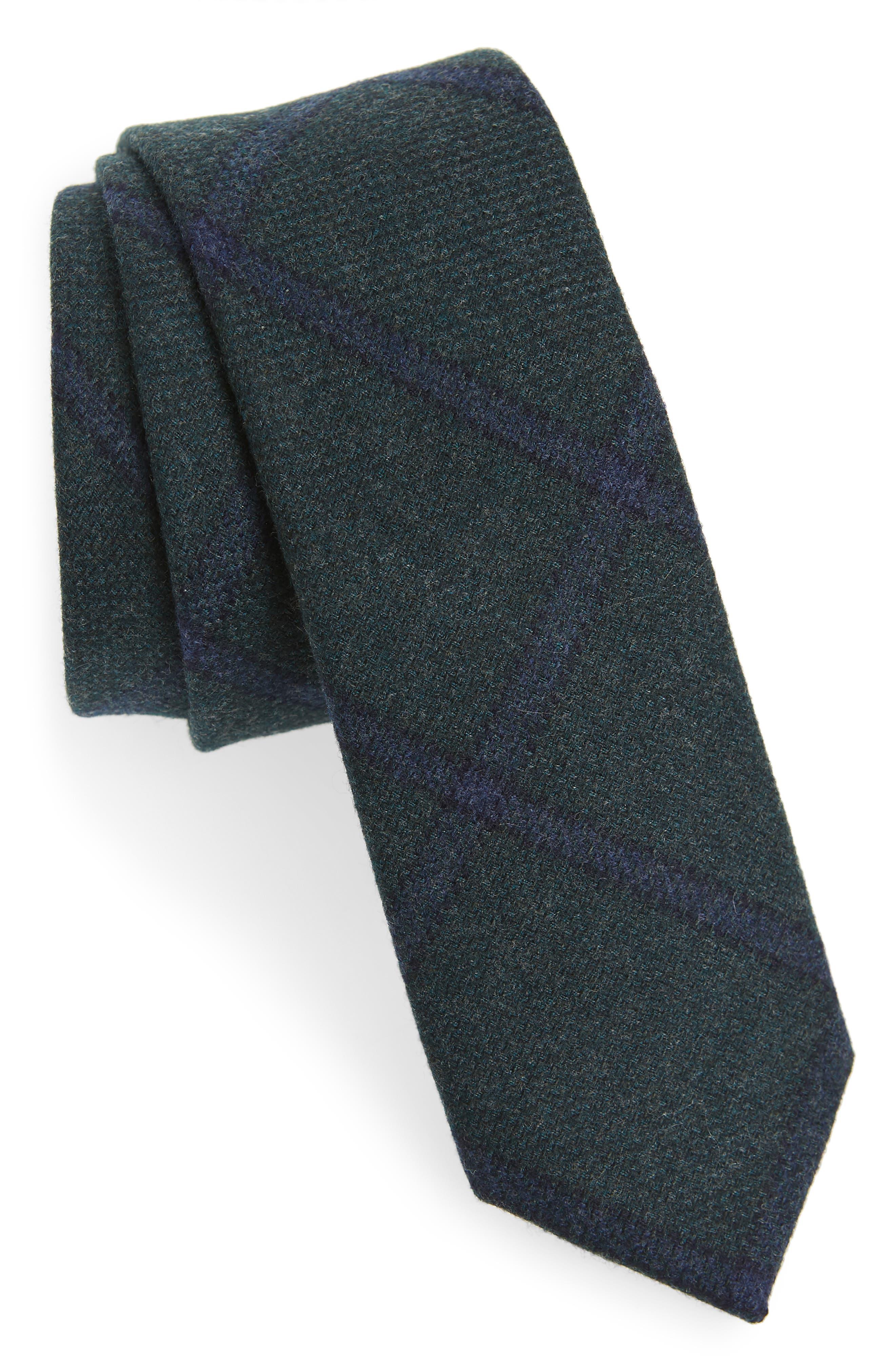 New 1930s Mens Fashion Ties Mens The Tie Bar Scoldo Plaid Wool Tie $23.45 AT vintagedancer.com