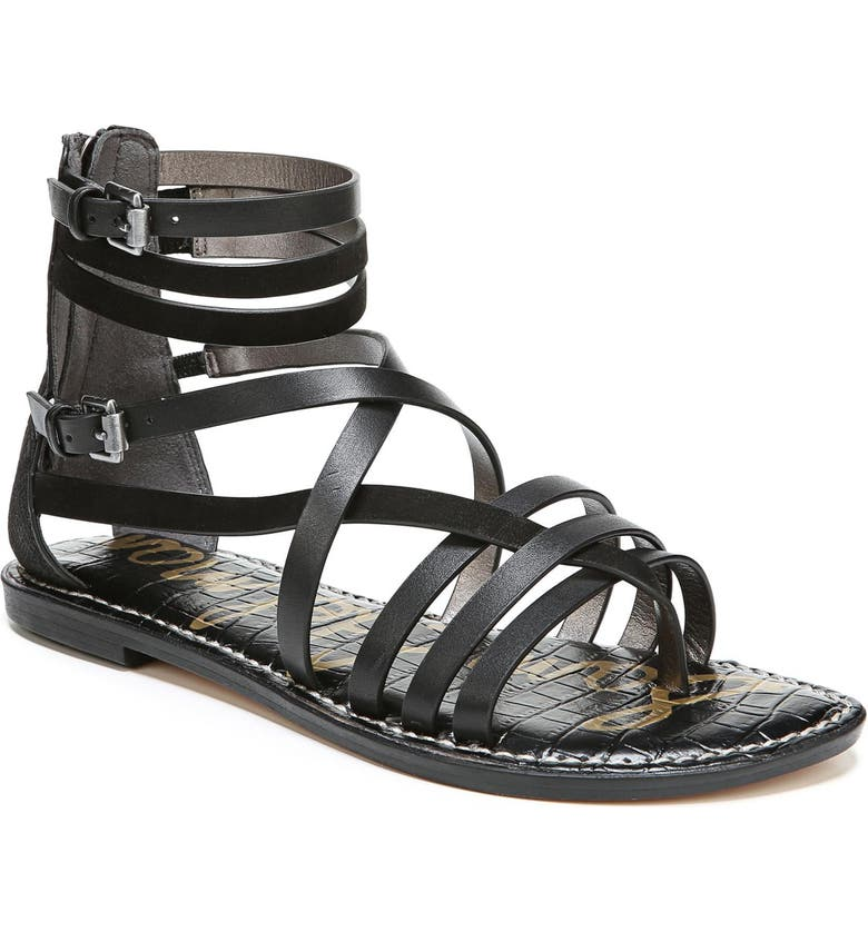 SAM EDELMAN Ganesa Strappy Sandal, Main, color, 001