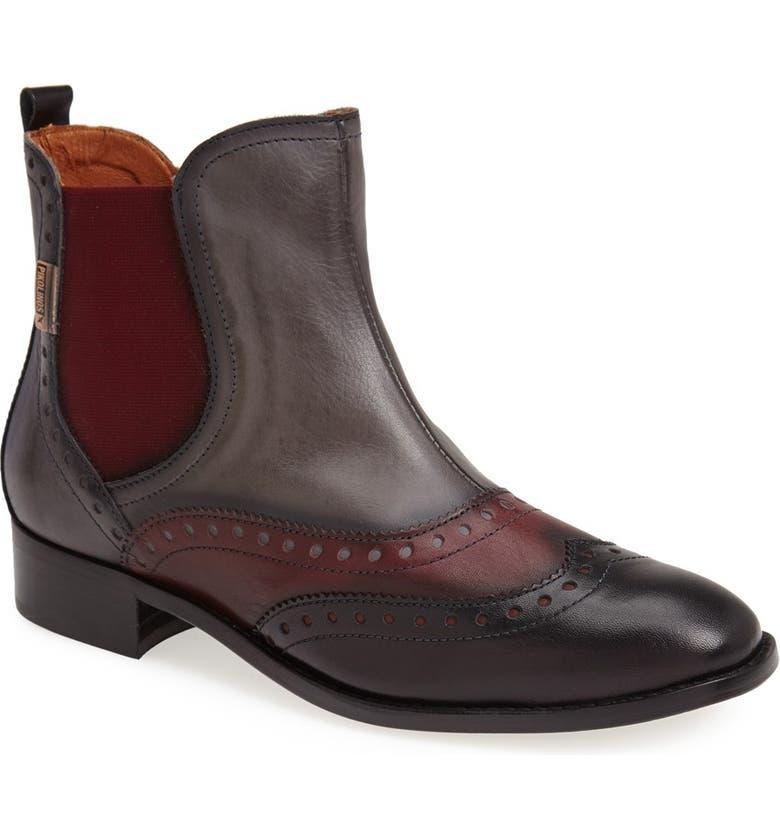 PIKOLINOS 'Brighton' Chelsea Boot, Main, color, LEAD