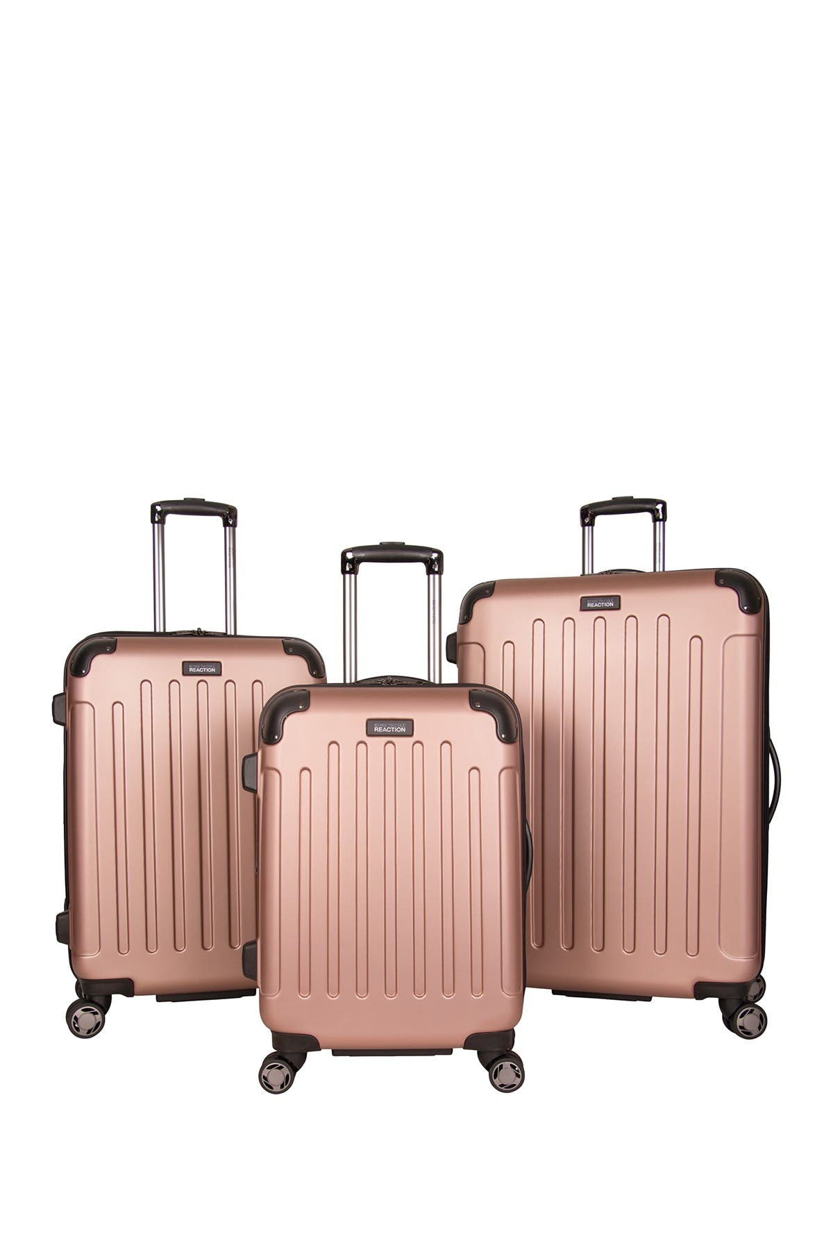 Image of Kenneth Cole Reaction Renegade 3-Piece 8-Wheel Spinner Lightweight Hardside Expandable Luggage Set