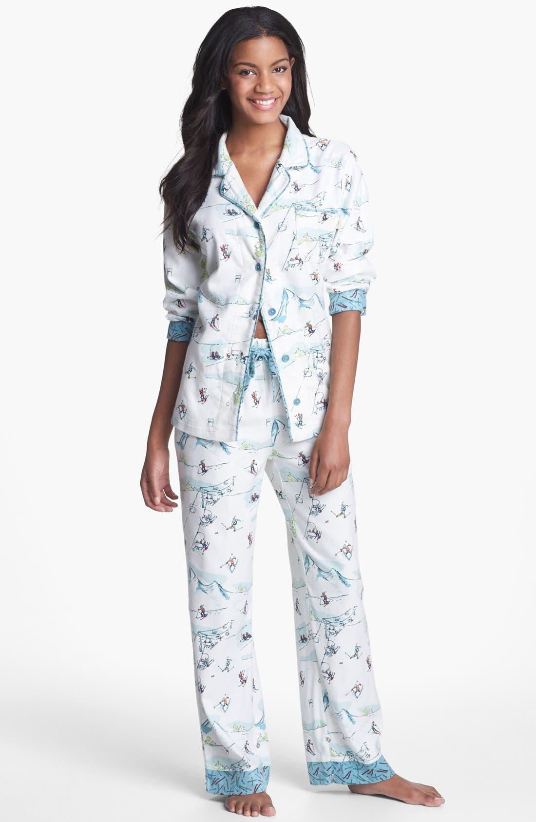 ,                             Flannel Pajamas,                             Main thumbnail 16, color,                             106