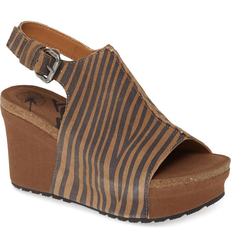 OTBT Jaunt Platform Wedge Sandal, Main, color, TAN SUEDE
