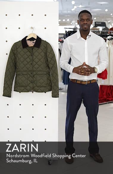 Deveron Diamond Quilted Jacket, sales video thumbnail