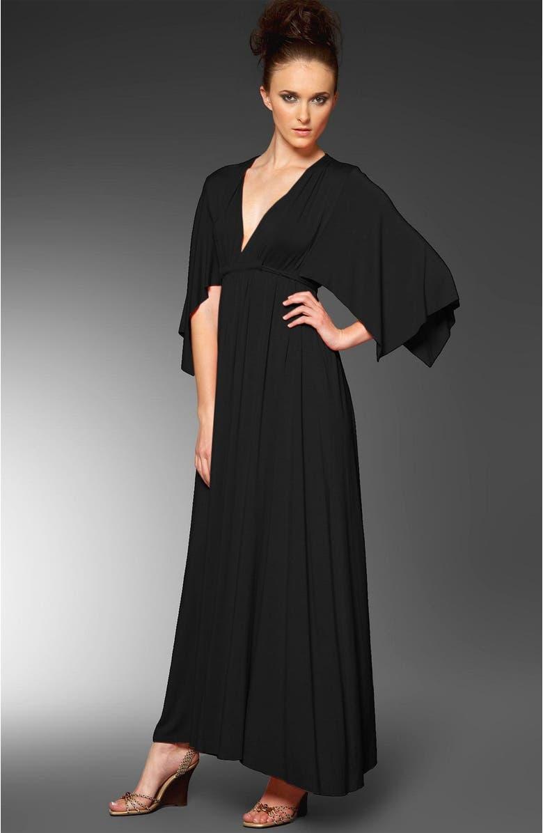 RACHEL PALLY Caftan Dress, Main, color, BLK