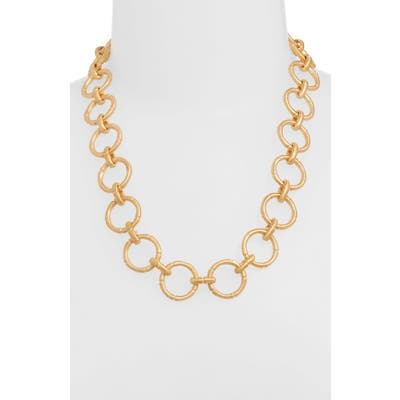 Dean Davidson Bamboo Style Link Necklace