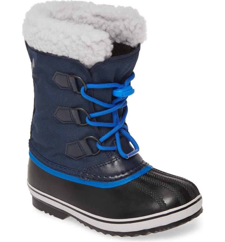 SOREL Yoot Pac Waterproof Snow Boot, Main, color, COLLEGIATE NAVY BLUE
