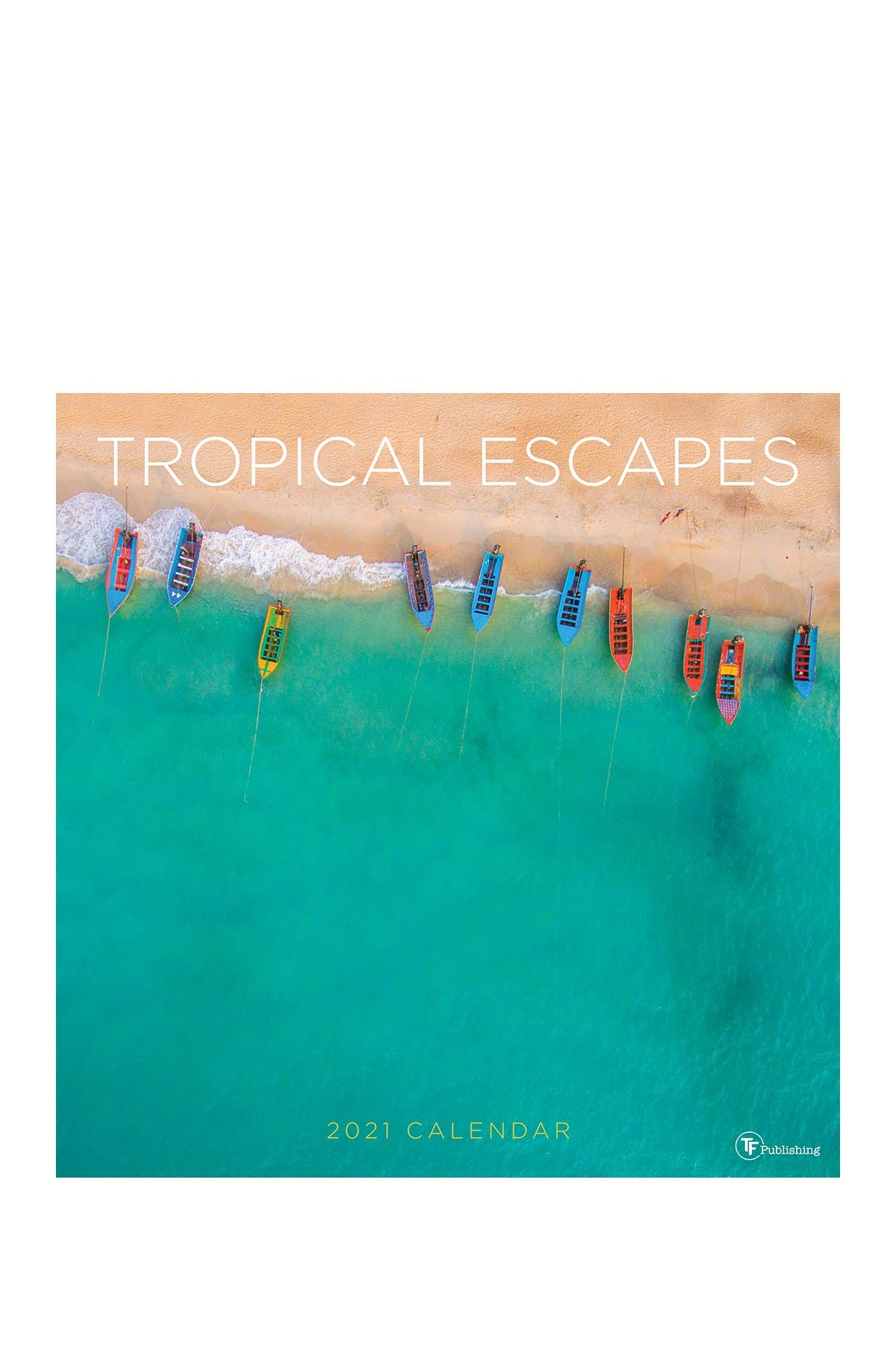 Image of TF Publishing 2021 Tropical Escapes Wall Calendar