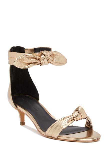 Image of Rebecca Minkoff Kaley Metallic Leather Sandal