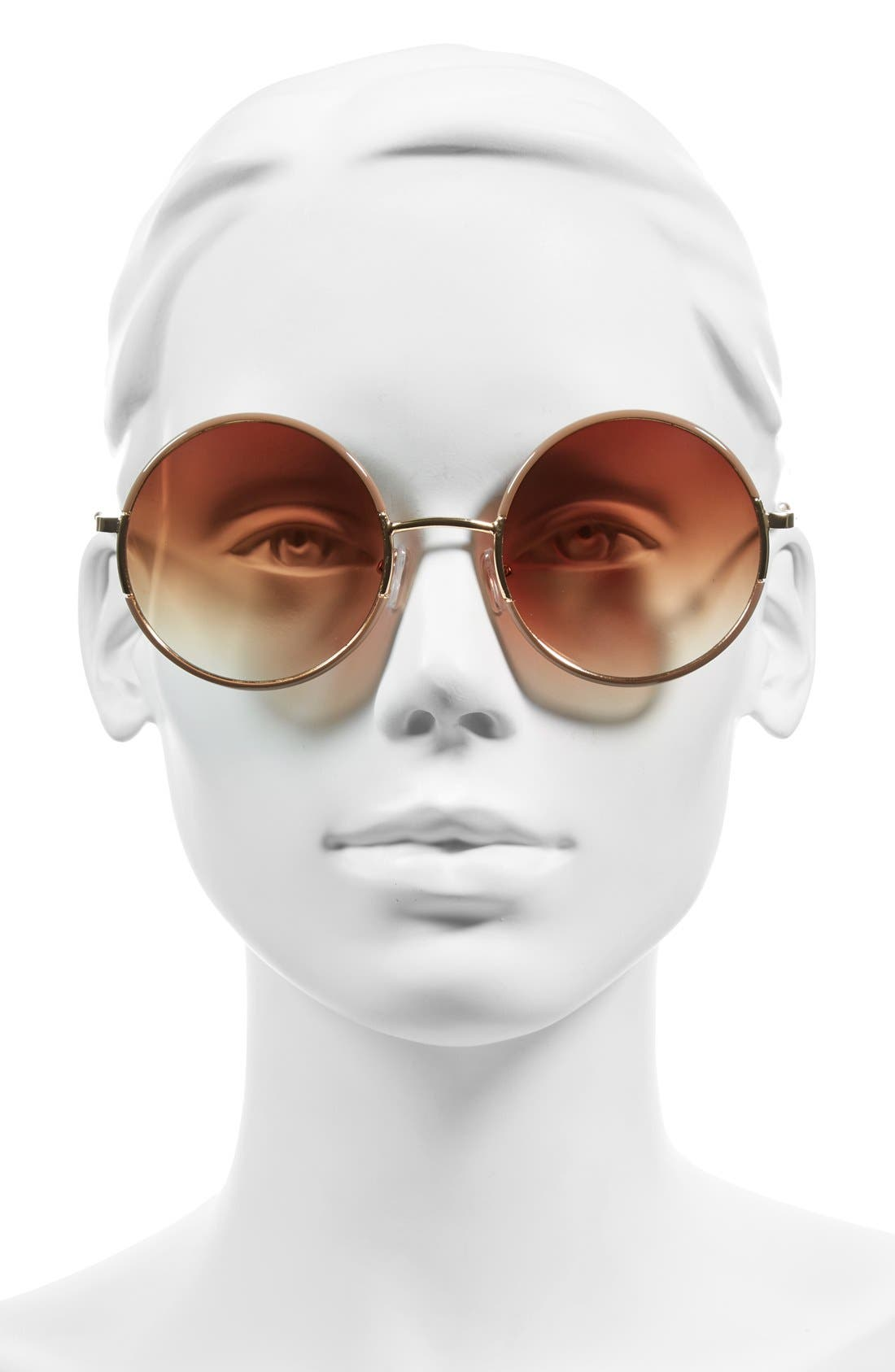 ,                             'Oh Nice' 55mm Round Sunglasses,                             Alternate thumbnail 6, color,                             250