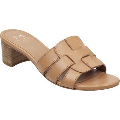 Marc Fisher Ltd Debora Slide Sandal, Beige