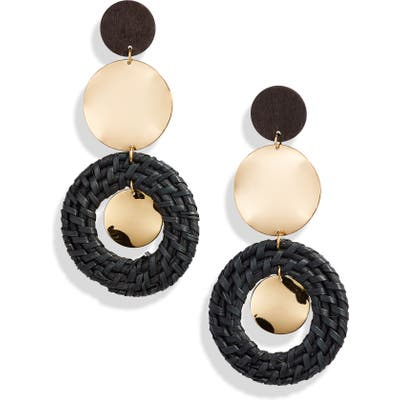 Ettika Raffia Ring Earrings