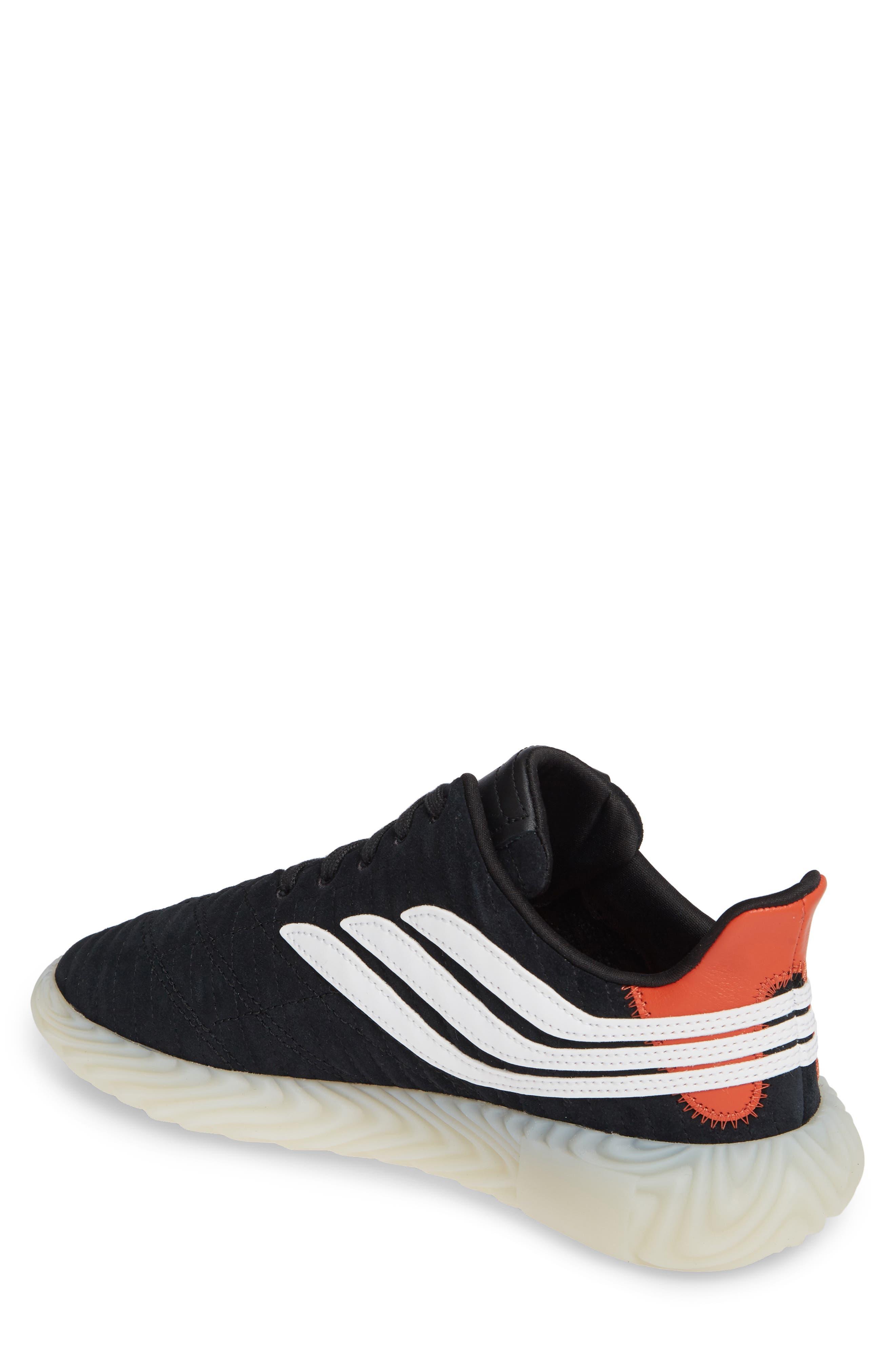 ,                             Sobakov Sneaker,                             Alternate thumbnail 2, color,                             CORE BLACK/ OFF WHITE/ AMBER