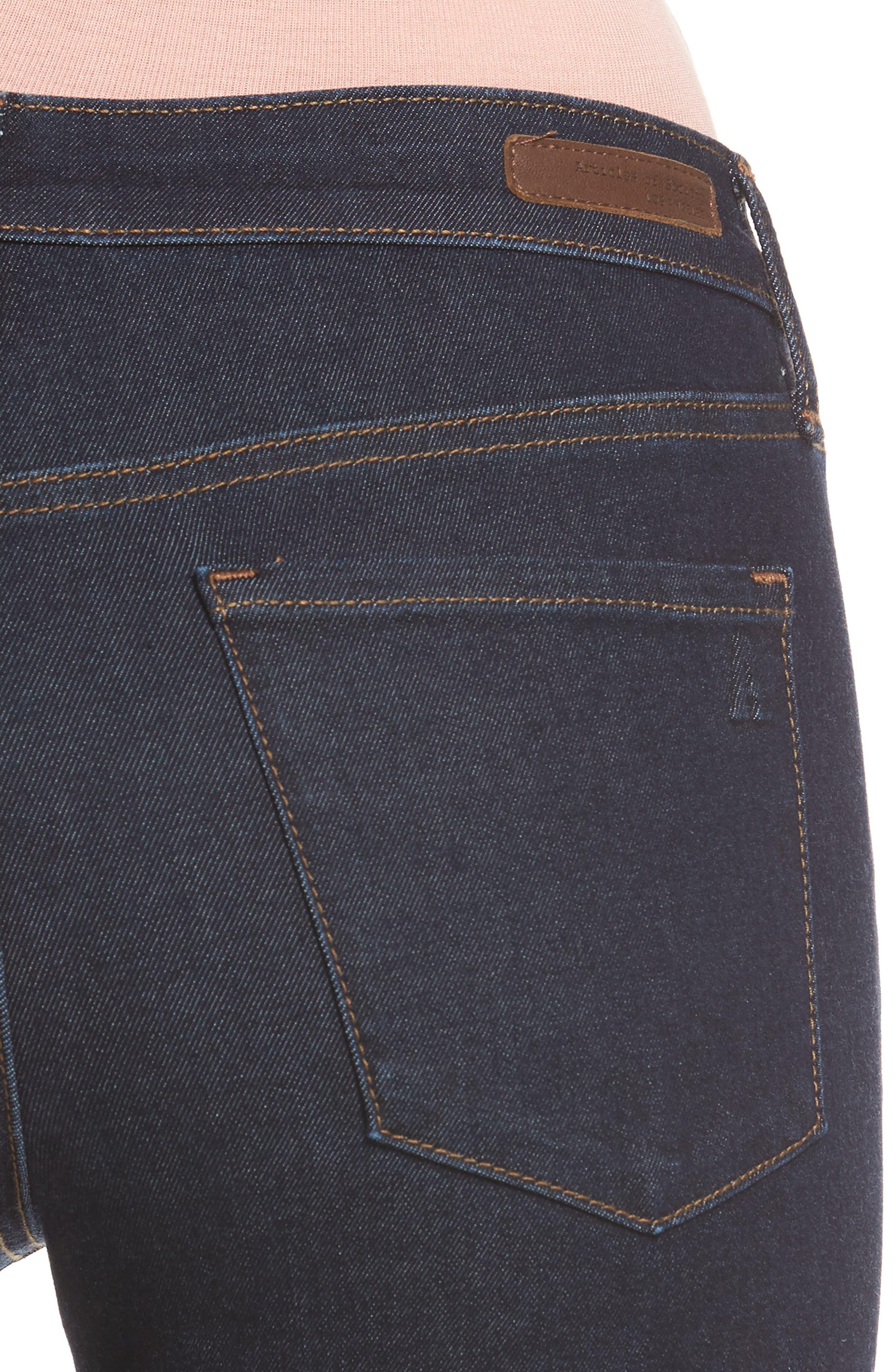 ,                             Sarah Ankle Skinny Jeans,                             Alternate thumbnail 4, color,                             495