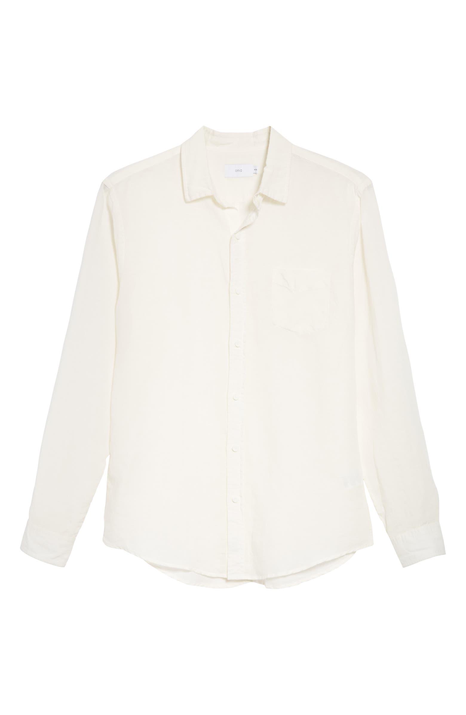 Abe Linen Blend Shirt ONIA