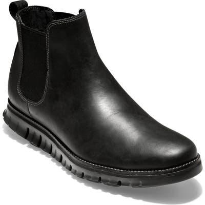 Cole Haan Zer?grand Waterproof Chelsea Boot- Black