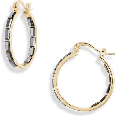 Gorjana Desi Inside-Out Hoop Earrings