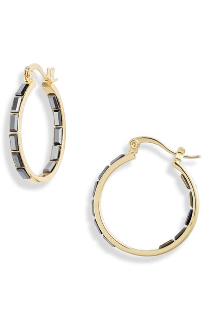 Gorjana Accessories DESI INSIDE-OUT HOOP EARRINGS