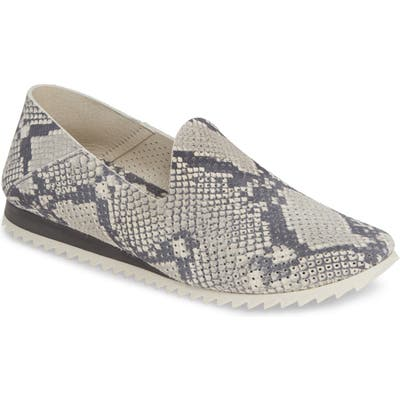 Pedro Garcia Cristiane Loafer Flat, Grey (Nordstrom Exclusive)