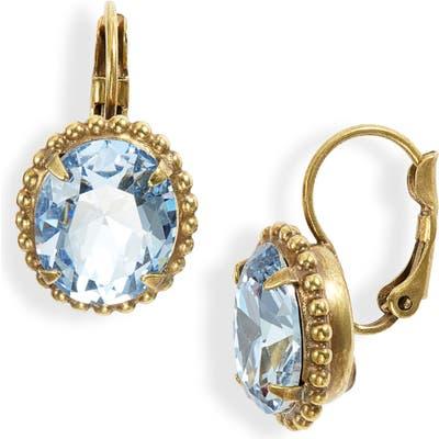 Sorrelli Crystal & Ball Chain Earrings