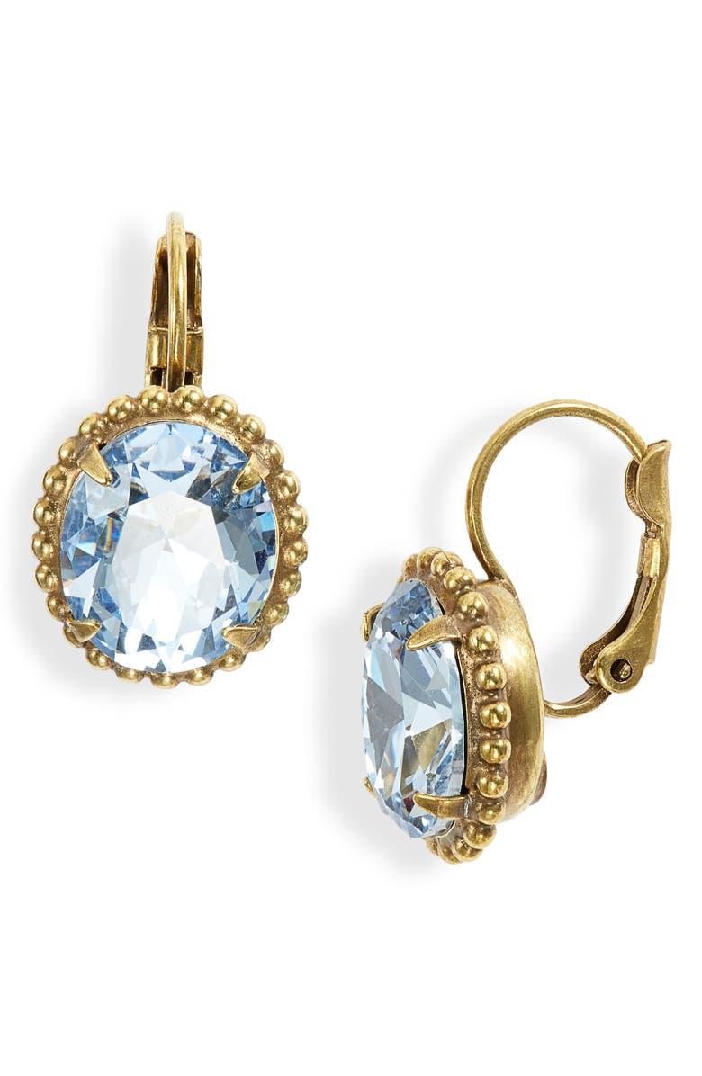 SORRELLI Crystal & Ball Chain Earrings, Main, color, BRIGHT MULTI