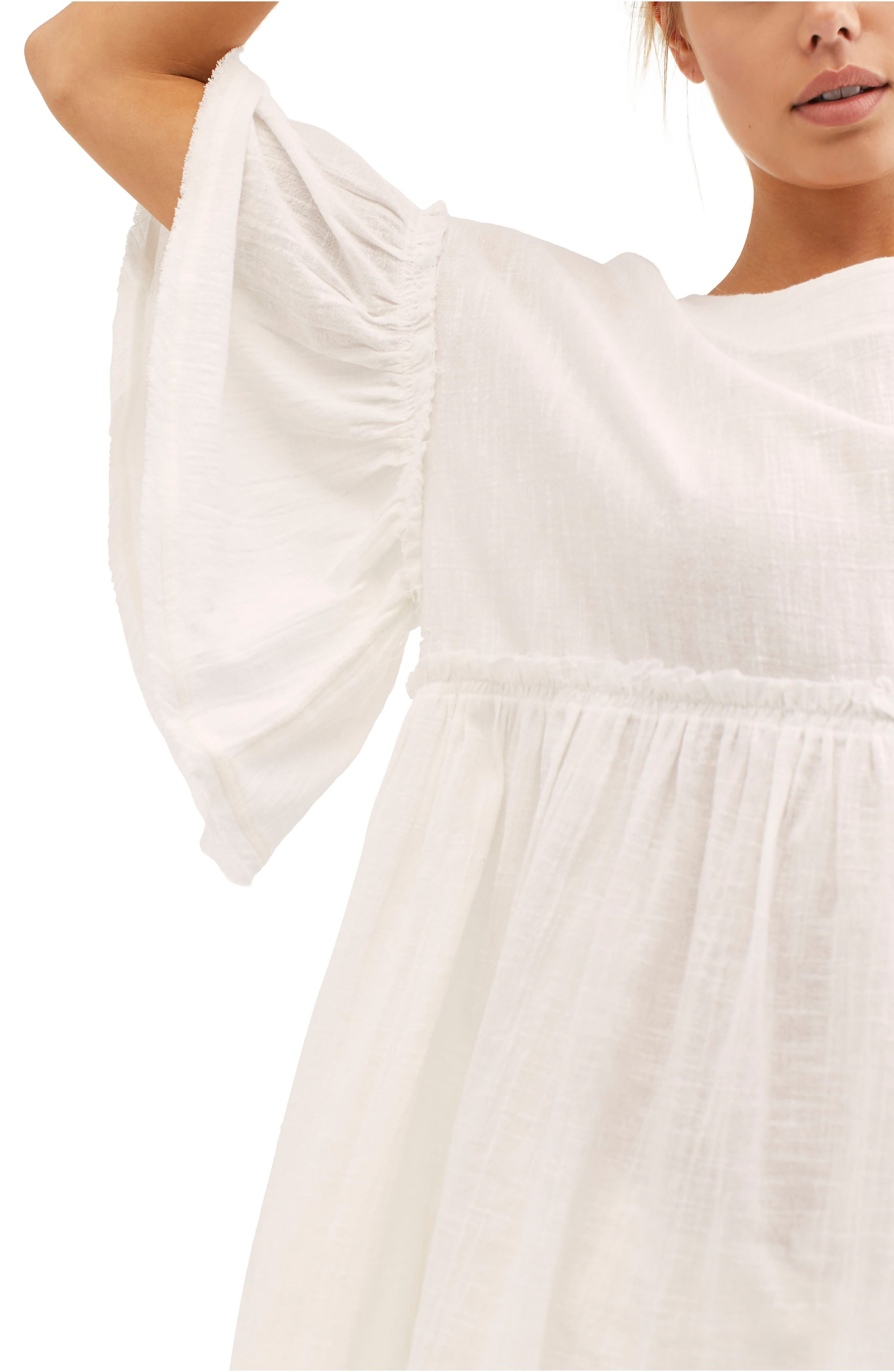 ,                             Summer Nights Top,                             Alternate thumbnail 4, color,                             WHITE
