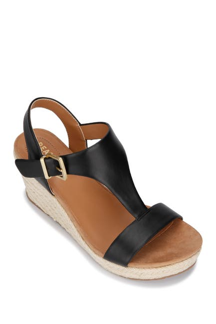 Image of Kenneth Cole Reaction Card Espadrille Wedge Sandal