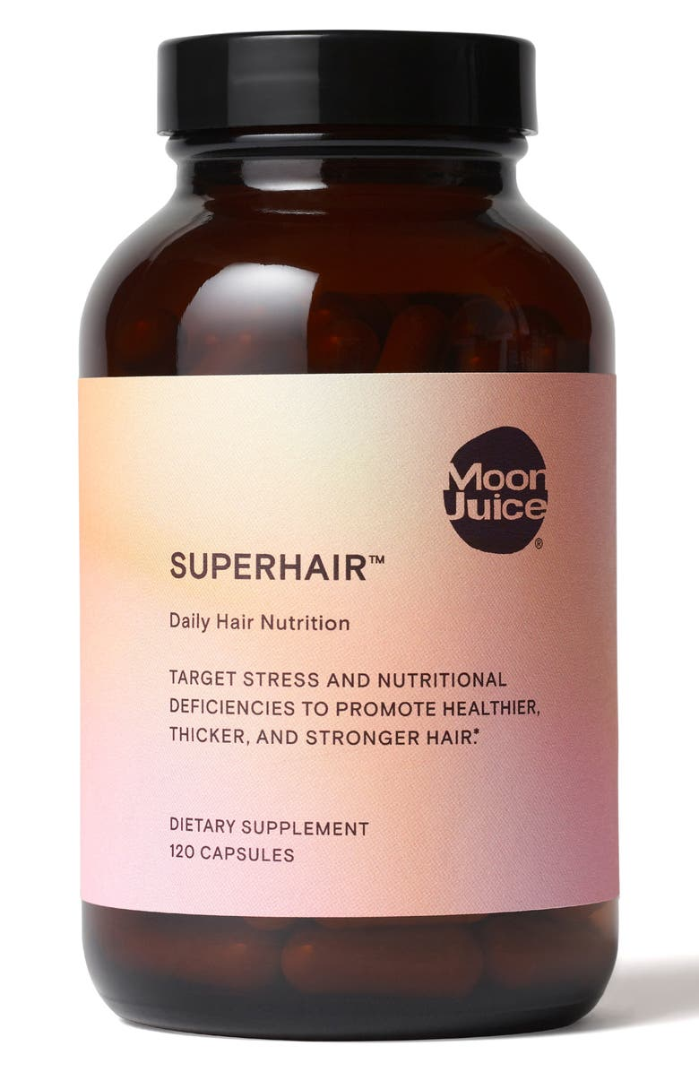 MOON JUICE SuperHair<sup>™</sup> Daily Hair Nutrition Dietary Supplement, Main, color, NO COLOR