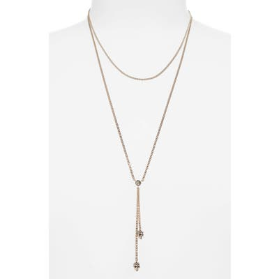 Alexander Mcqueen Thin Chain Necklace