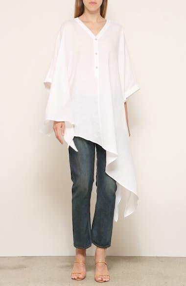 Havana Asymmetrical Linen Shirt, video thumbnail