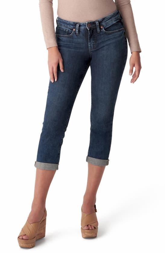 Silver Jeans Co. Denims SUKI CAPRI JEANS