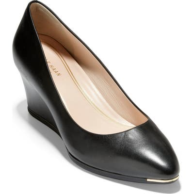 Cole Haan Grand Ambition Wedge Pump B - Black