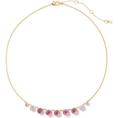 Kate Spade New York Reflecting Pool Frontal Necklace