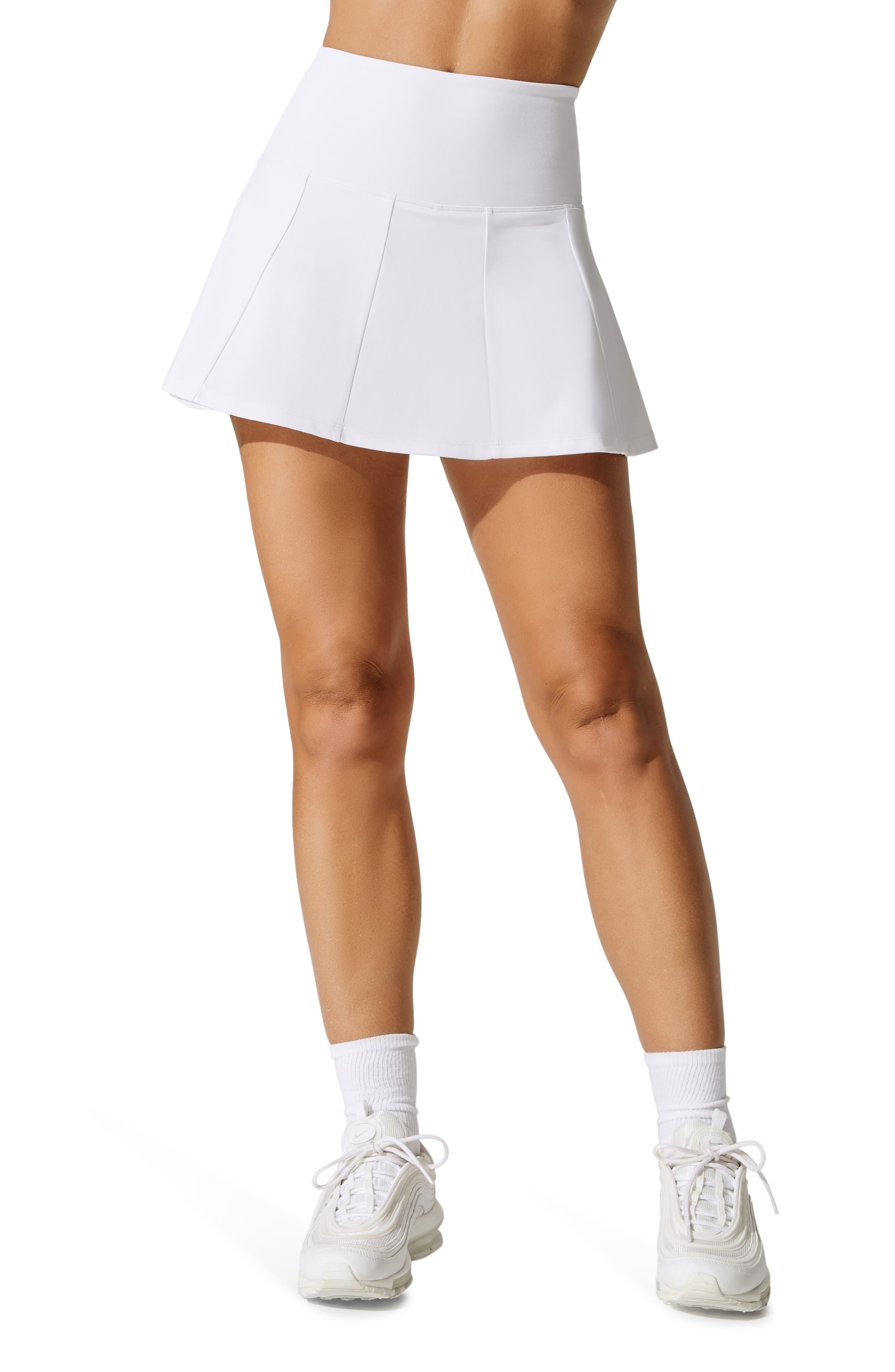 X Carbon38 Pleated Tennis Skirt