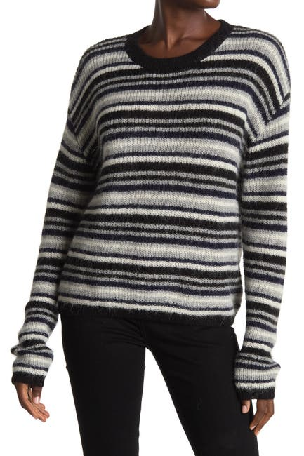 Image of Line Piper Striped Long Sleeve Sweater