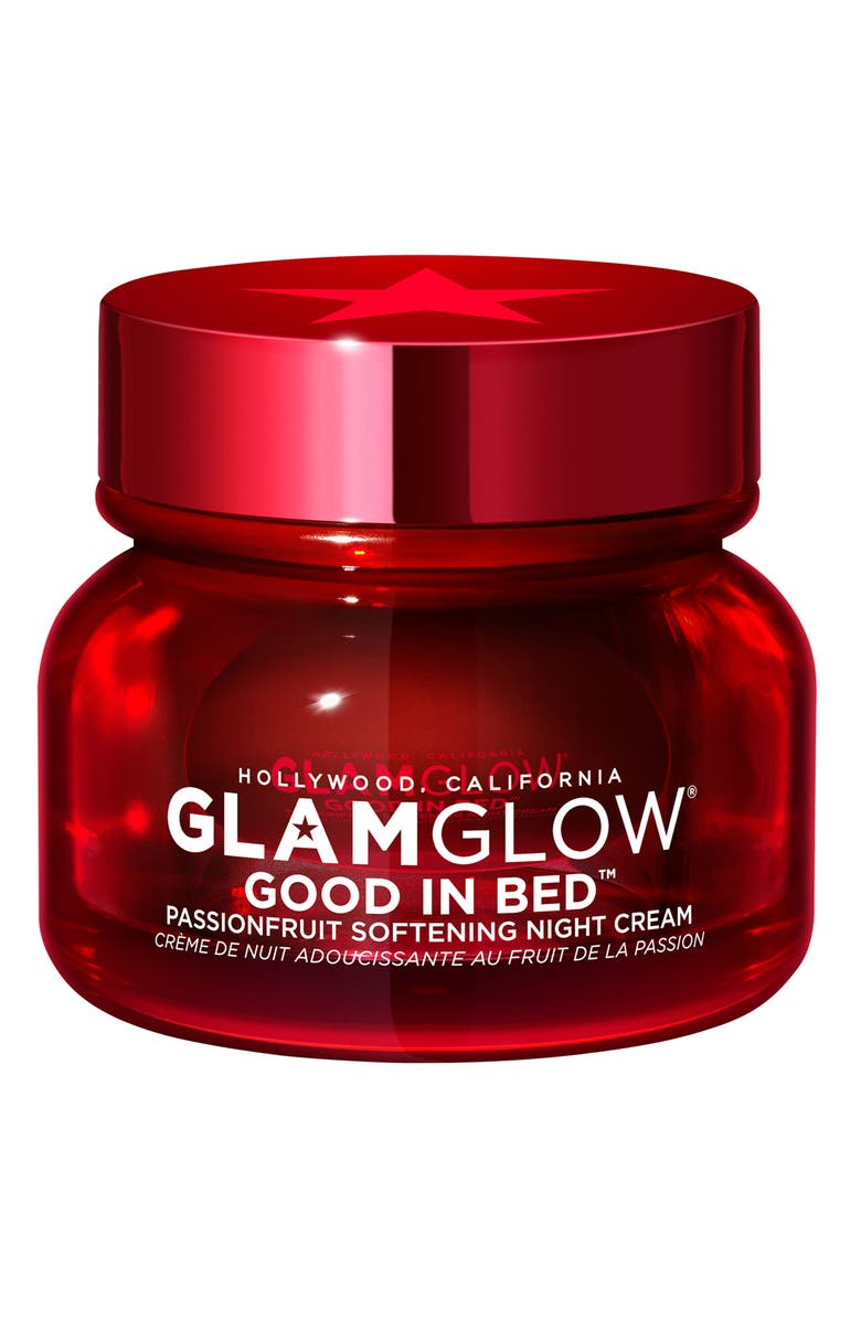 GLAMGLOW<SUP>®</SUP> Good In Bed<sup>™</sup> Passionfruit Softening Night Crème, Main, color, NO COLOR