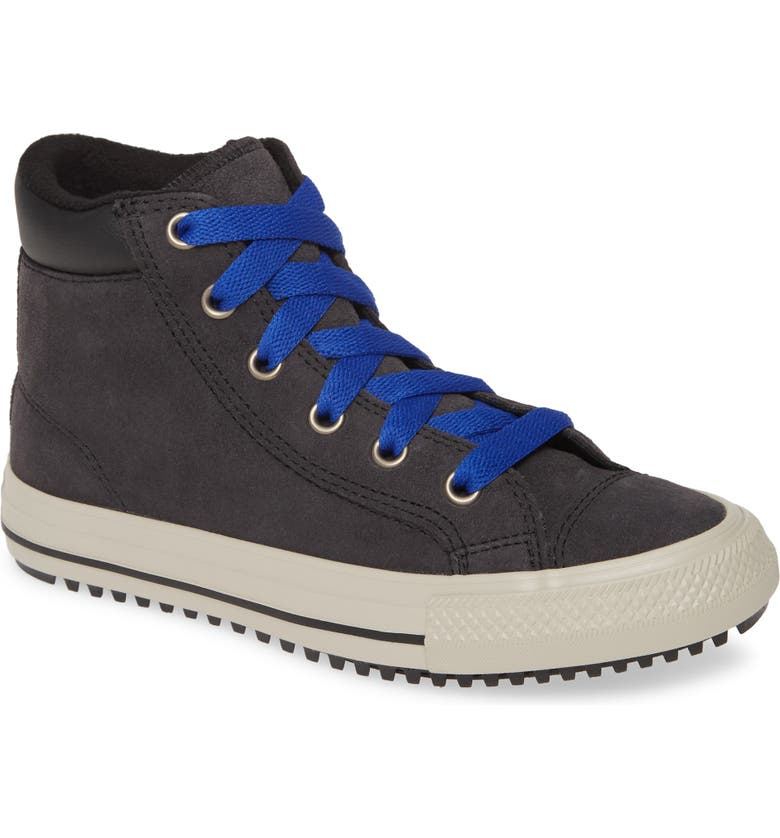 CONVERSE Chuck Taylor<sup>®</sup> All Star<sup>®</sup> PC Boot High Top Sneaker, Main, color, ALMOST BLACK/ BLUE/ BIRCH BARK
